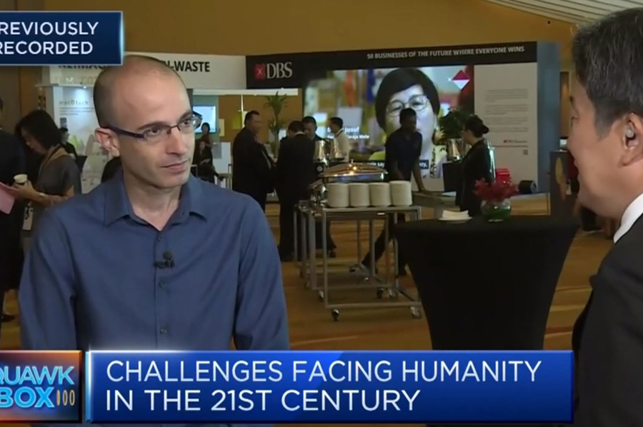 <p>'We should never underestimate human stupidity' - Youval Noah Harari/ CNBC</p>