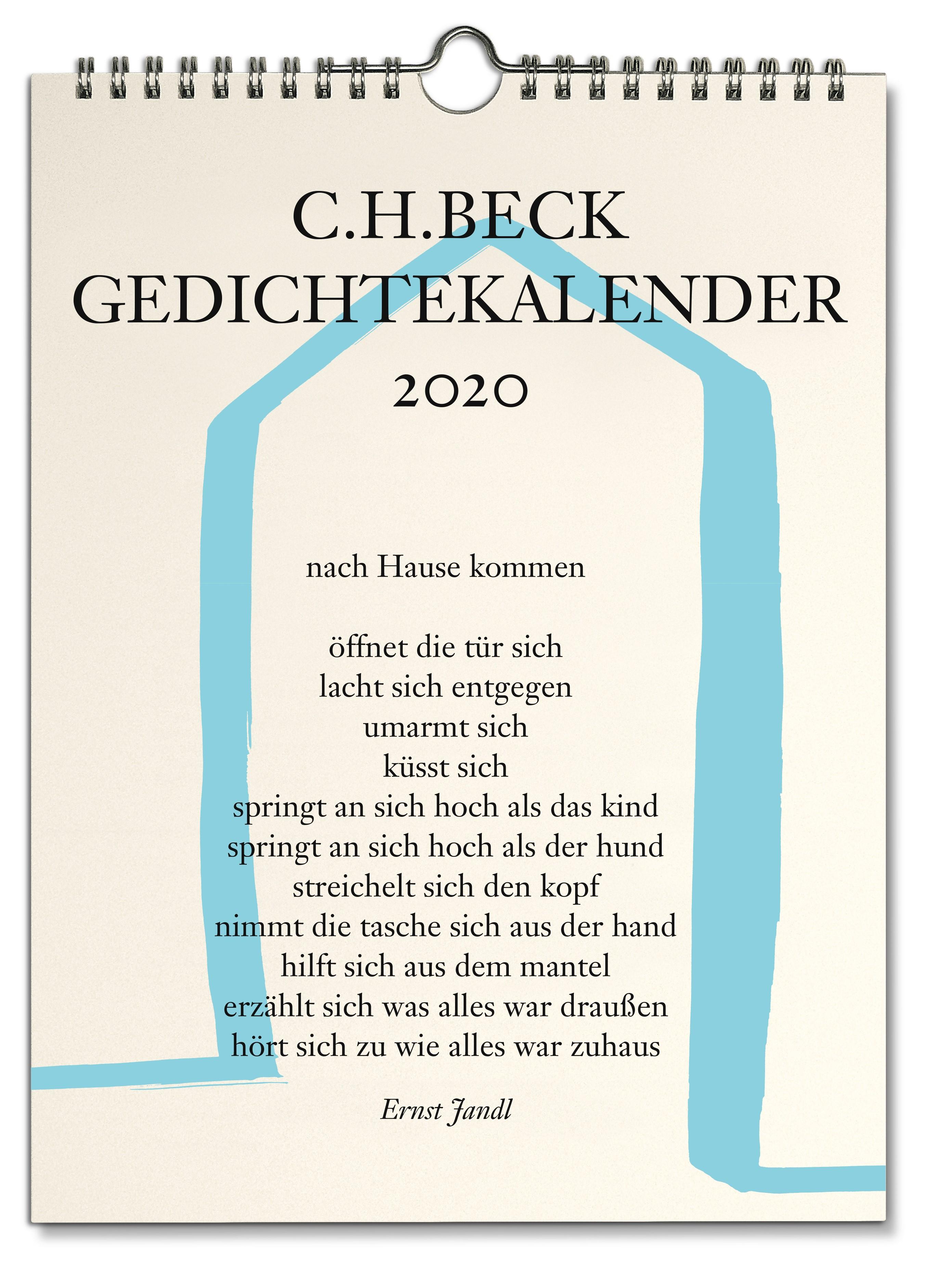 Ch Beck Gedichtekalender Petersdorff Dirk Von Sonstiges